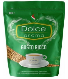 Dolce Aroma  GUSTO RICCO 400g