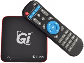 GI LUNN  216 TV BOX // Android 7.1.2, Amlogic S905W, 2/16GB