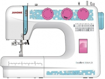 Janome  Excellent Stitch 23 NEW