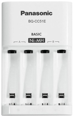 Panasonic  Basic Charger New (BQ-CC51E)