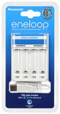 Panasonic  Basic USB Charger (BQ-CC61USB)
