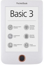 Электронная книга PocketBook  614 Basic 3 White
