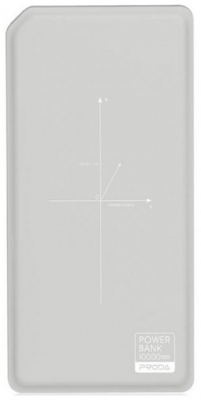 Remax  Proda Chicon Wireless 10000mAh grey+white (PPP-33)
